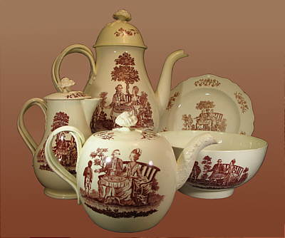 Accessories<br>Archives<br>SOLD   18th Century Wedgwood Coffee and Tea Set