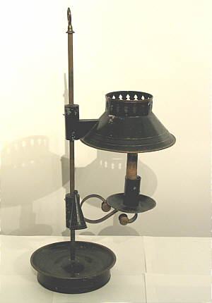 Metalware<br>Archives<br>Early Tin Student Lamp
