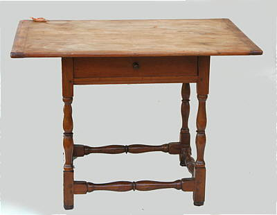 Furniture<br>Furniture Archives<br>SOLD  New England Tavern Table