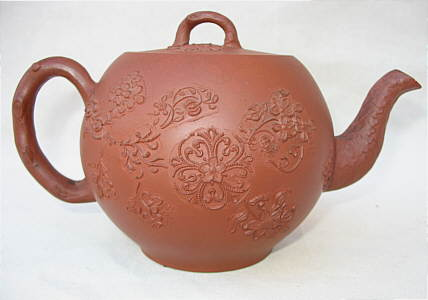 Accessories<br>Accessories Archives<br>SOLD   An Early Red Stoneware Teapot