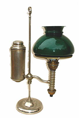 Metalware<br>Archives<br>A Manhattan Brass Student Lamp