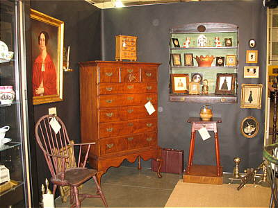 Booth Pics<br>Booths of the Past<br>The Original York Antique Show, Winter 2008
