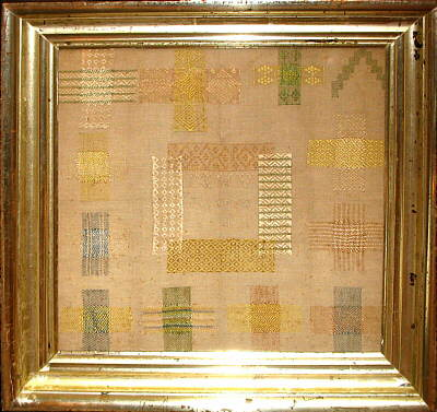 Accessories<br>Textiles<br>An 18th Century Dutch Darning Sampler