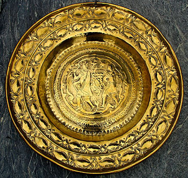 Metalware<br>Archives<br>Brass Alms Dish