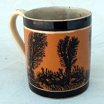 Ceramics<br>19th Century<br>A Once Great Mocha Mug