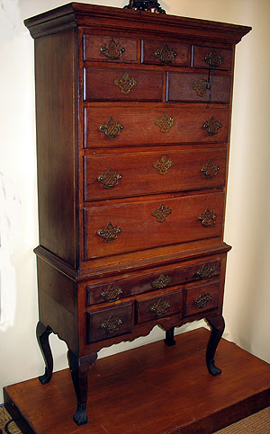 Furniture<br>Furniture Archives<br>SOLD    A Child's Highboy