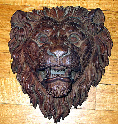 Accessories<br>Accessories Archives<br>SOLD   A Carved Victorian Lion