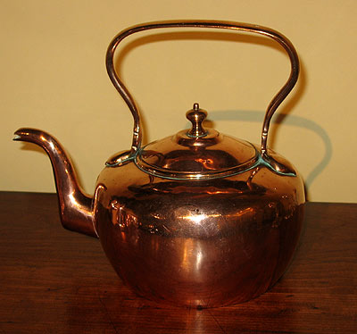 Metalware<br>Other<br>An English Copper Kettle