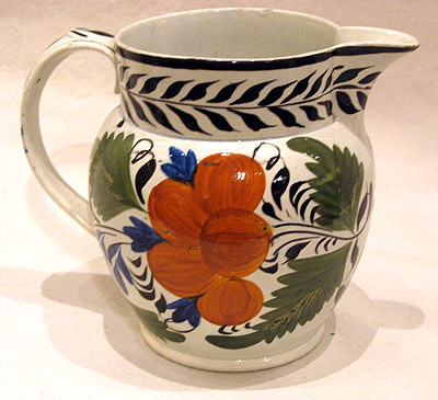 Accessories<br>Archives<br>SOLD   A Polychrome Pearlware Jug