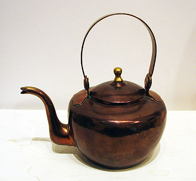 Metalware<br>Archives<br>SOLD  Very Small Copper Kettle