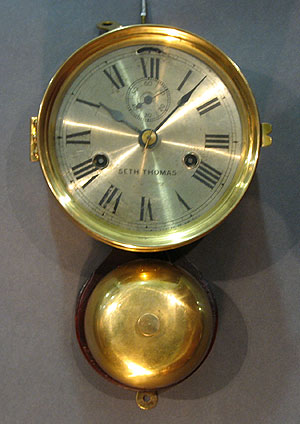 Accessories<br>Accessories Archives<br>SOLD   Seth Thomas Ship's Clock