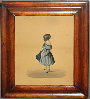 Paintings<br>Archives<br>Silhouette of Boy in Blue