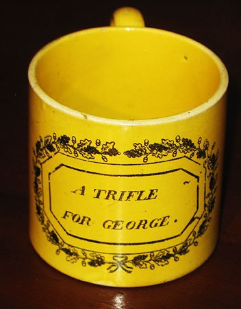 Ceramics<br>Ceramics Archives<br>A Trifle for George child's mug