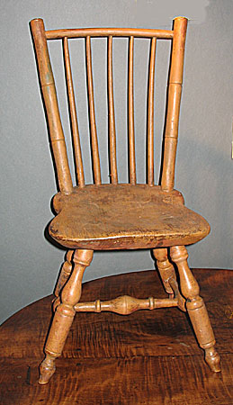 Furniture<br>Furniture Archives<br>SOLD A Transitional Child's Windsor Chair