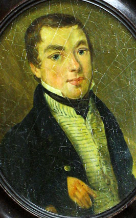 Paintings<br>Archives<br>A Miniature Portrait of Edward Wilkes