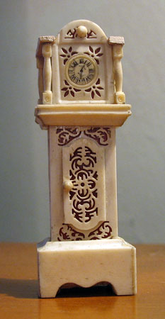 Accessories<br>Accessories Archives<br>Bone (or the other stuff) Doll House Tall Clock