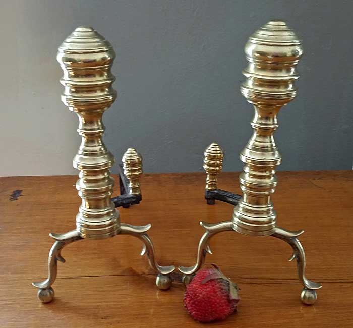 Metalware<br>Archives<br>Pair of Creepers or Miniature Andirons