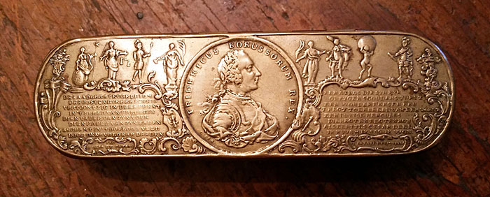 Metalware<br>Archives<br>Frederick the Great Tobacco Box