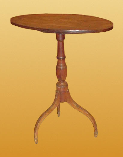 Furniture<br>Furniture Archives<br>SOLD  A Fine Federal Candlestand