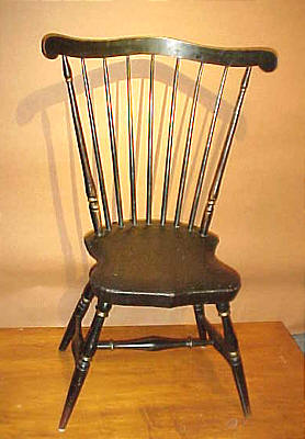 Furniture<br>Furniture Archives<br>SOLD  Fanback Windsor Side Chair