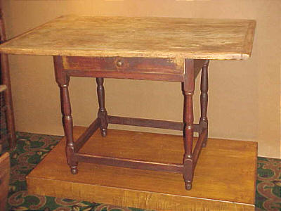 Furniture<br>Furniture Archives<br>SOLD  A Complete Tavern Table.