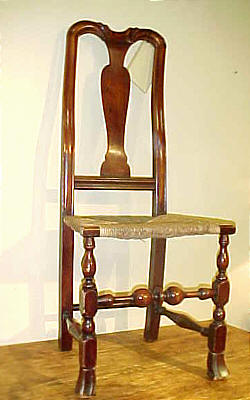 Furniture<br>Furniture Archives<br>SOLD  Queen Anne Side Chair