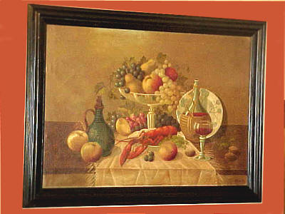 Paintings<br>Archives<br>Still Life with a North American Lobster