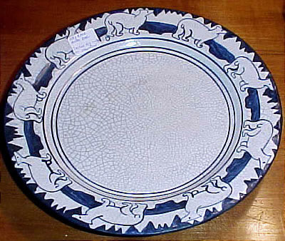 Accessories<br>Archives<br>SOLD   Dedham Polar Bear Plate