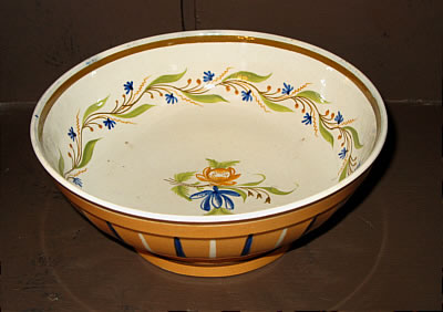 Accessories<br>Archives<br>SOLD   Interesting Pearlware Bowl