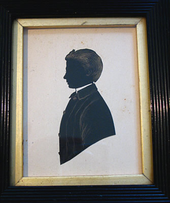 Paintings<br>Archives<br>Silhouette of a Young Man