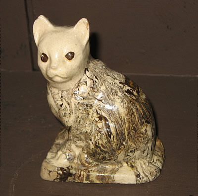 Accessories<br>Archives<br>SOLD   Agate Salt-Glaze Cat