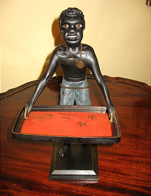 Accessories<br>Accessories Archives<br>SOLD   Carved Figure of Blackamoor