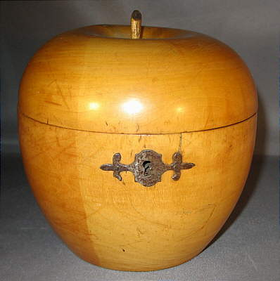 Accessories<br>Accessories Archives<br>SOLD   Apple Tea Caddy