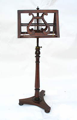 Furniture<br>Furniture Archives<br>SOLD  Rosewood Music Stand