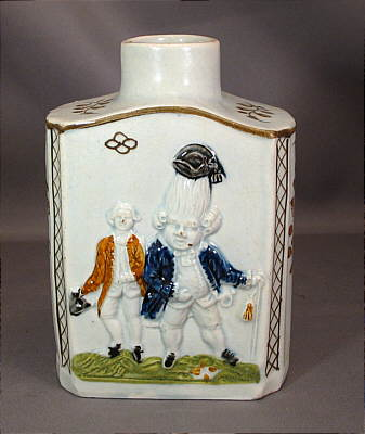 Accessories<br>Archives<br>SOLD   Prattware Tea Canister