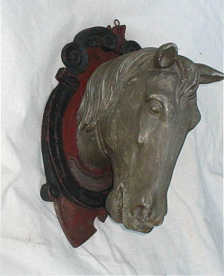 Accessories<br>Accessories Archives<br>SOLD   Carved Wooden Horse Head