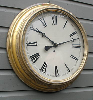 Accessories<br>Accessories Archives<br>SOLD   A Victorian Connecticut Gallery Clock