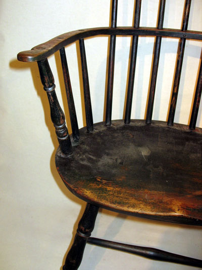 Furniture<br>Furniture Archives<br>SOLD  Comb-Back Windsor Armchair