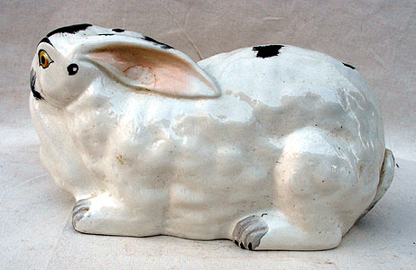 Accessories<br>Archives<br>SOLD   A Staffordshire Bunny