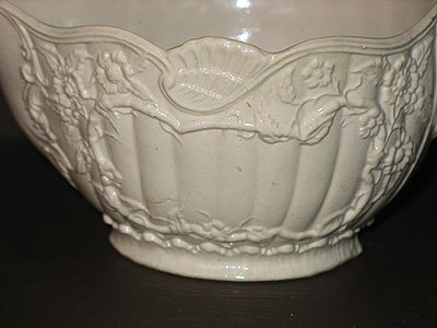 Ceramics<br>Ceramics Archives<br>SOLD  A Mid 18th Century Saltglaze Sauceboat