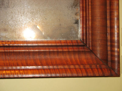 Accessories<br>This and That<br>SOLD Pennsylvania Tiger Maple Mirror
