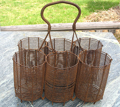 Accessories<br>This and That<br>SOLD  A Wire Bottle Caddy