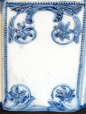 Ceramics<br>18th Century<br>SOLD  A Pearlware Tea Canister
