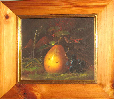 Paintings<br>Archives<br>SOLD  An oil of a pear