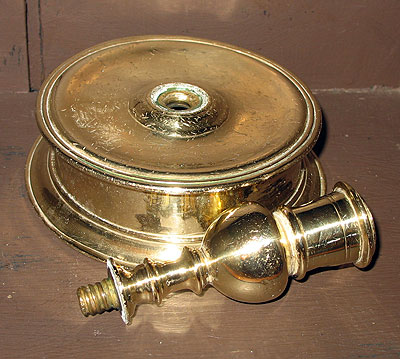 Metalware<br>Archives<br>Early and Wonderful Capstan Candlestick