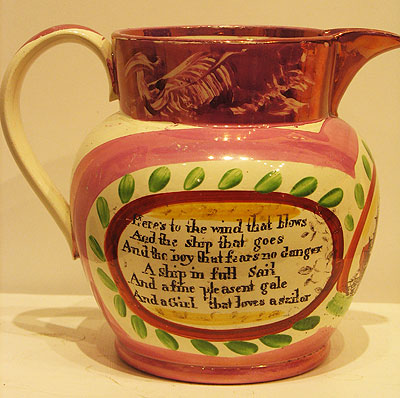 Ceramics<br>Ceramics Archives<br>Wonderful Sunderland Jug