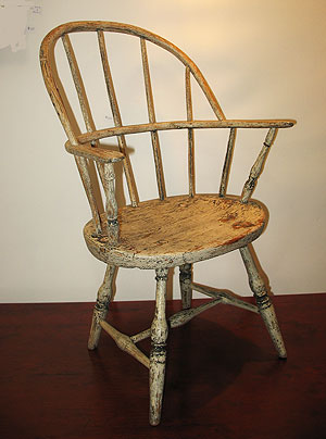 Furniture<br>Furniture Archives<br>SOLD  A Child's Windsor Chair