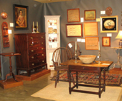 Booth Pics<br>Booths of the Past<br>The York Antiques Show Oct. 2012