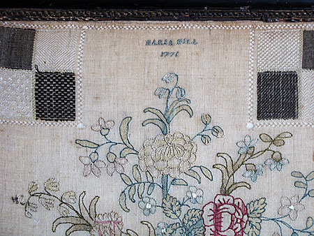 Accessories<br>Archives<br>SOLD An unusual Chinoiserie Darning Sampler