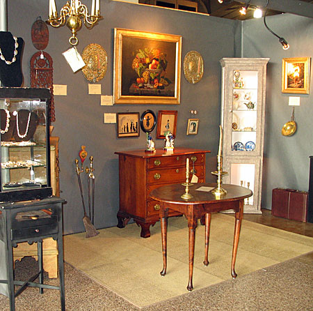 Booth Pics<br>Recent Shows<br>Our Booth at the York Antiques Show
